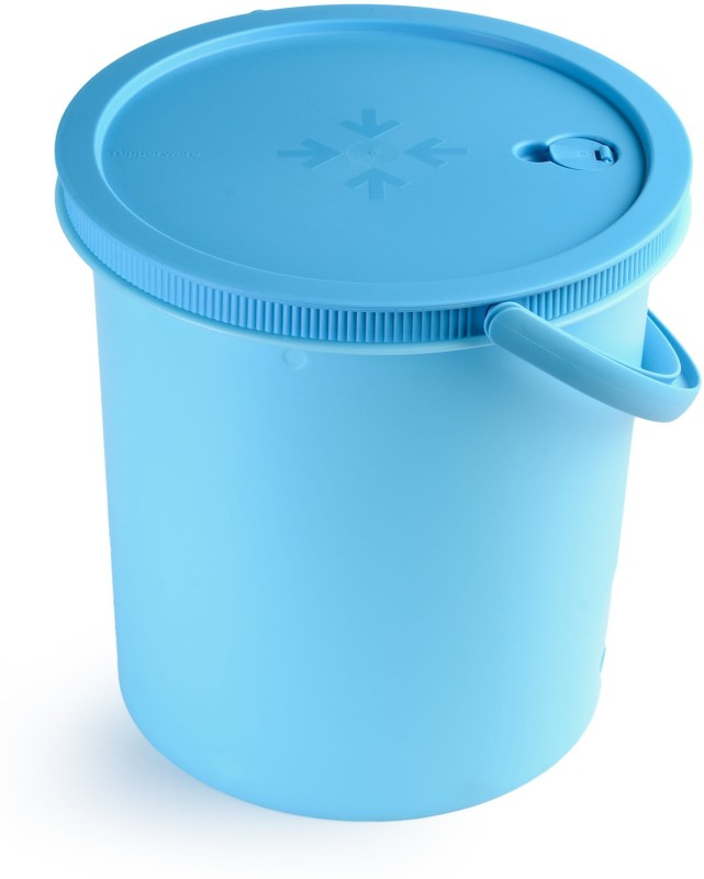 Tupperware 14 L Plastic Bucket(Beige)