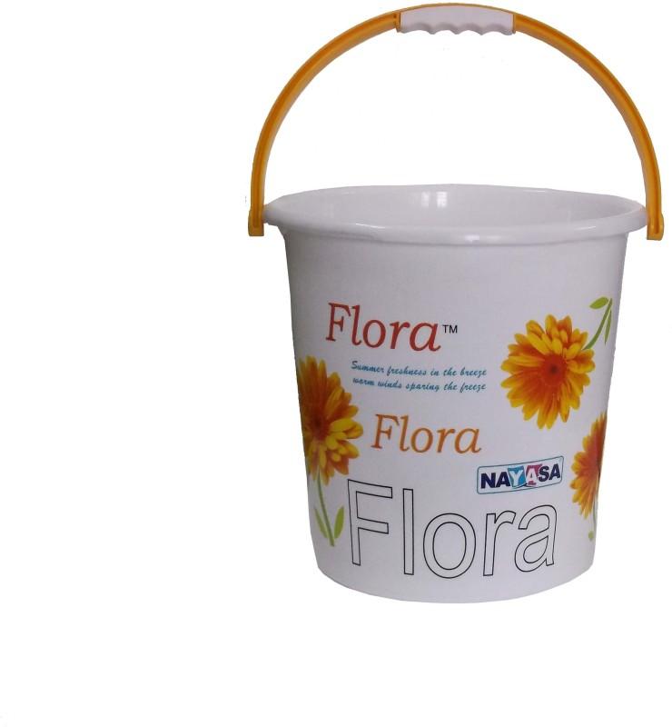 Nayasa 20 L Plastic Bucket(Yellow)