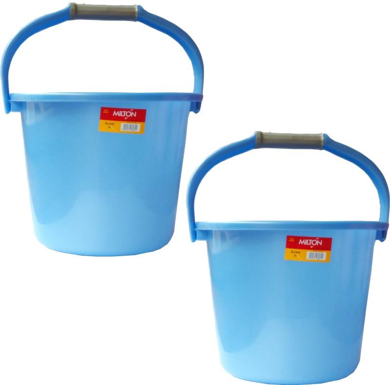 Milton New 22 L Plastic Bucket(Blue)