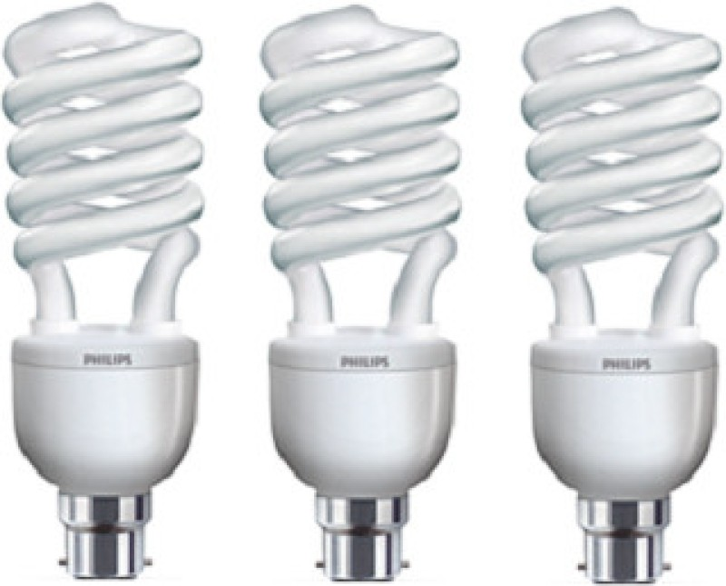 Philips 32 W Spiral B22 CFL Bulb(Pack of 3)