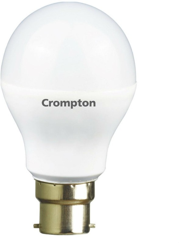 Crompton 9 W Round B22 LED Bulb(White)