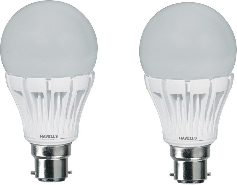 Havells 7 W B22 LED Bulb(White, Pack of 2)