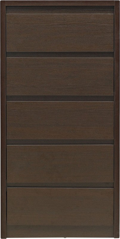 @home by Nilkamal Vagus Solid Wood Free Standing Chest of Drawers(Finish Color - Brown)