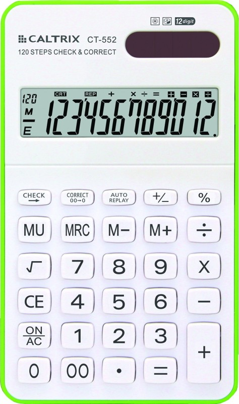 Caltrix CT-552 CT-552 Basic  Calculator(12 Digit)