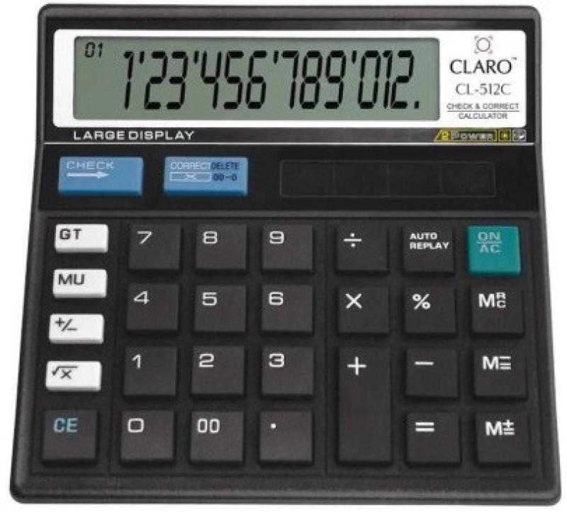 Claro CL512 Basic  Calculator(12 Digit)