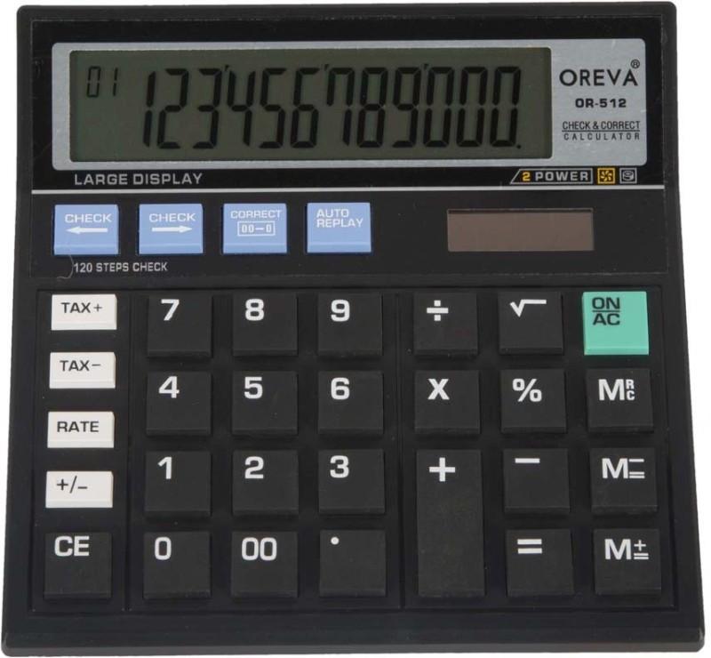 Oreva OR-512 OR-512 Basic  Calculator(12 Digit)