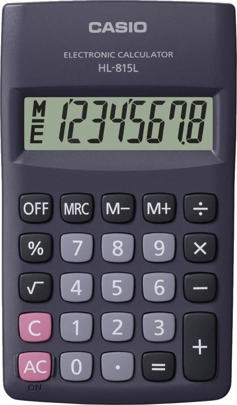 Casio HL-815L Basic Calculator(8 Digit)