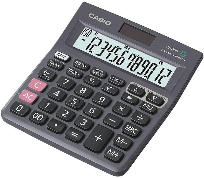 Casio MJ-120D Desktop Basic  Calculator(12 Digit)