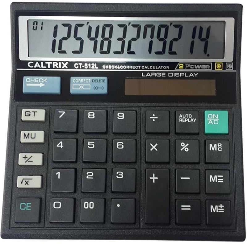 CALTRIX CALTRIX CT-512L Check & Correct Calculator Basic  Calculator(12 Digit)