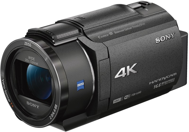 Sony FDR-AX40 Camcorder(Black) FDR-AX40