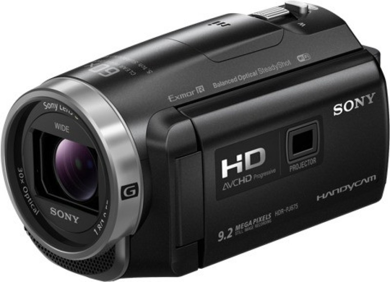 Sony HDR-PJ675 1.9-57.0mm Camcorder Camera(Black) image