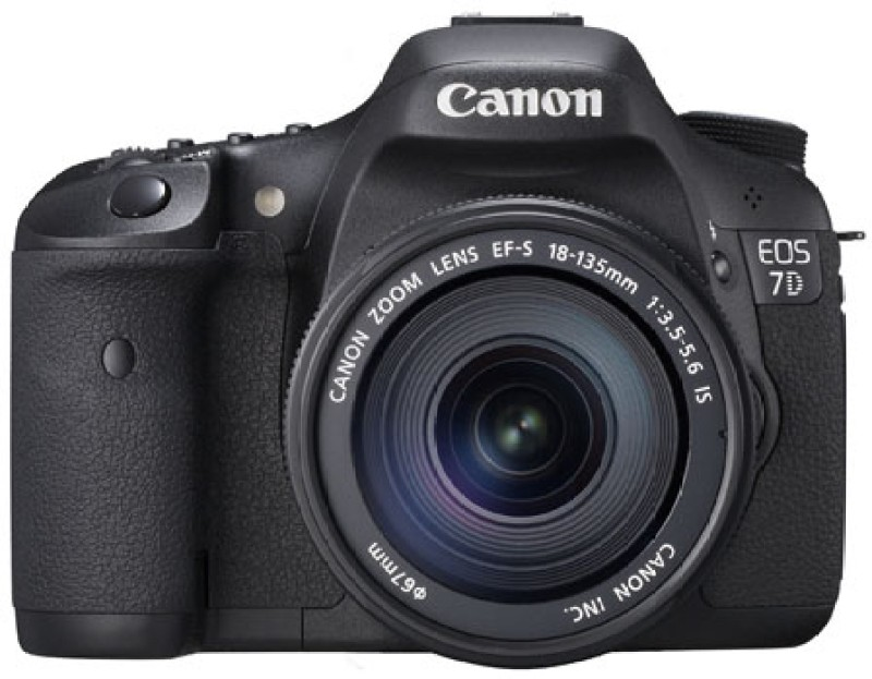 Canon EOS 7D DSLR Camera (Body only)(Black)