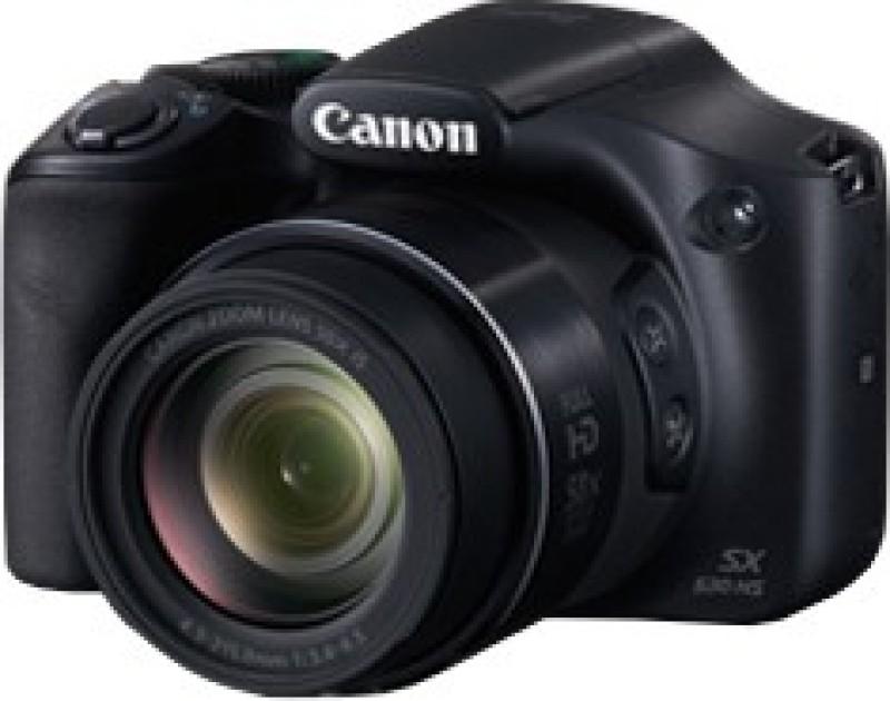 Canon SX530 HS Point & Shoot Camera(Black) image