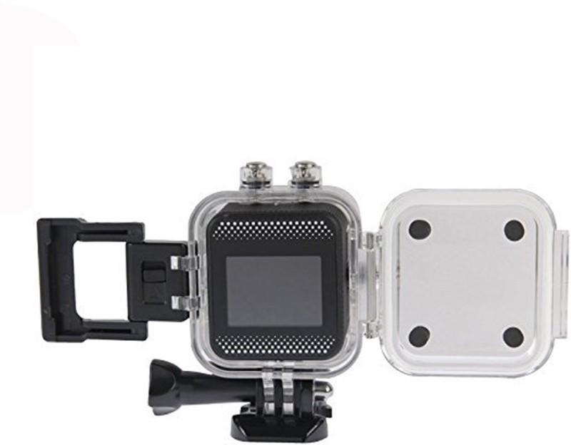 Sjcam Wifi Mini Cube Cam-1.5 Inch Ultra HD Display Waterproof 12MP 1080p Camcorder-Car Dash 170 Degree HD wide-angle lens Sports & Action Camera(Black) image