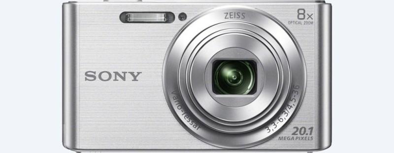 Sony DSC-W830 Point & Shoot Camera(Silver) image