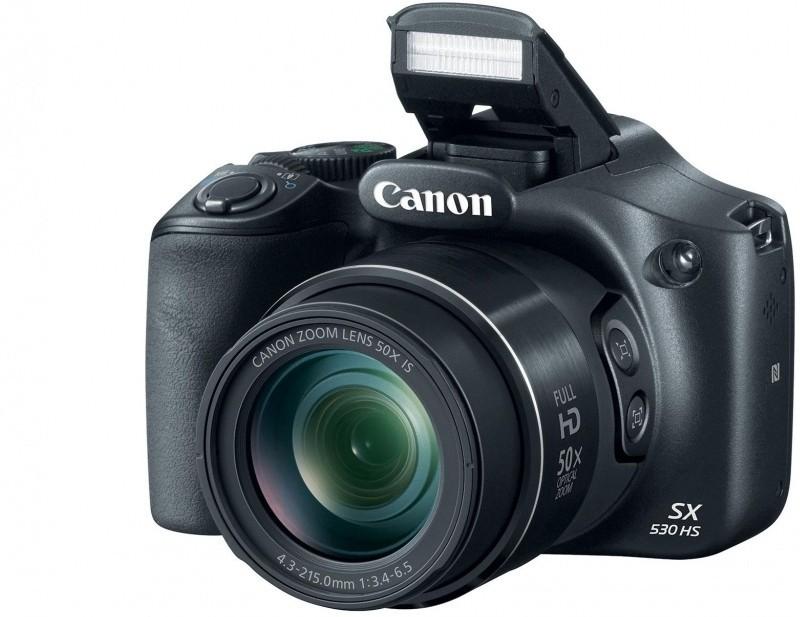 Canon SX530 HS Point & Shoot Camera(Black) SX530 HS