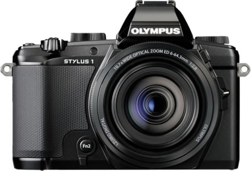 Olympus STYLUS 1 Advanced Point & Shoot Camera(Black) STYLUS 1
