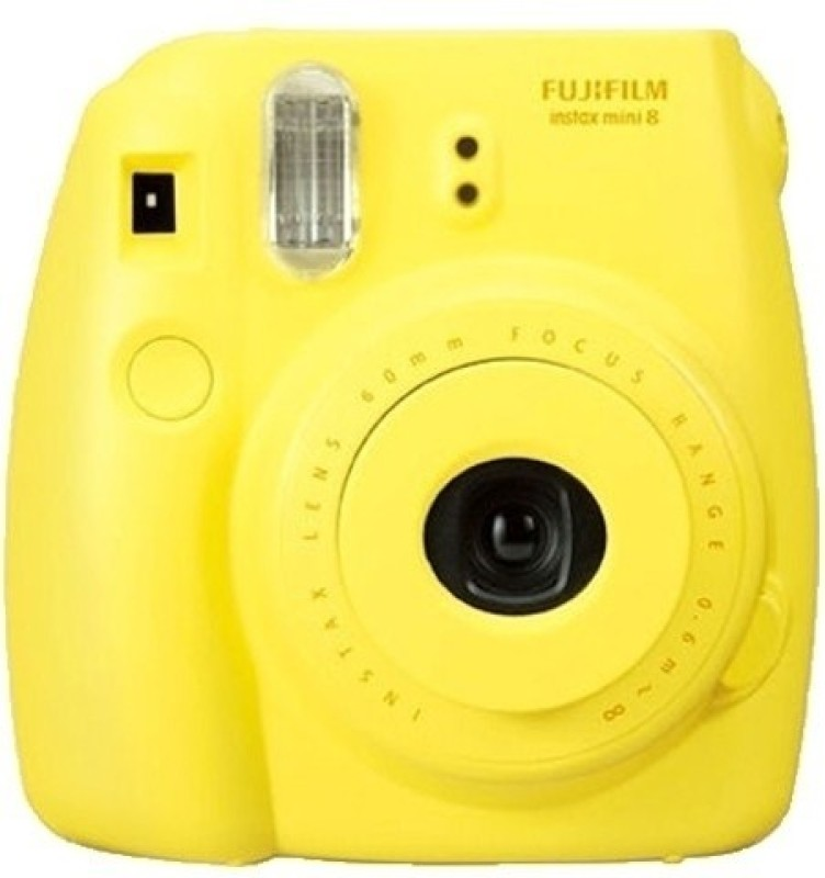 Fujifilm Instax Mini 8 Instant Camera(Yellow) image