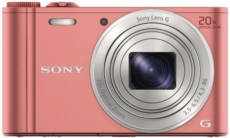 Sony DSC-WX350 Point & Shoot Camera(Pink) image
