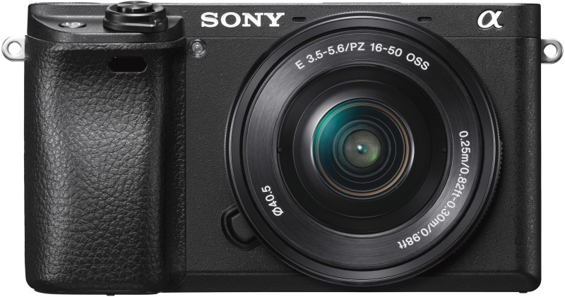 Sony ILCE-6300L Mirrorless Camera with 16-50mm Lens(Black)