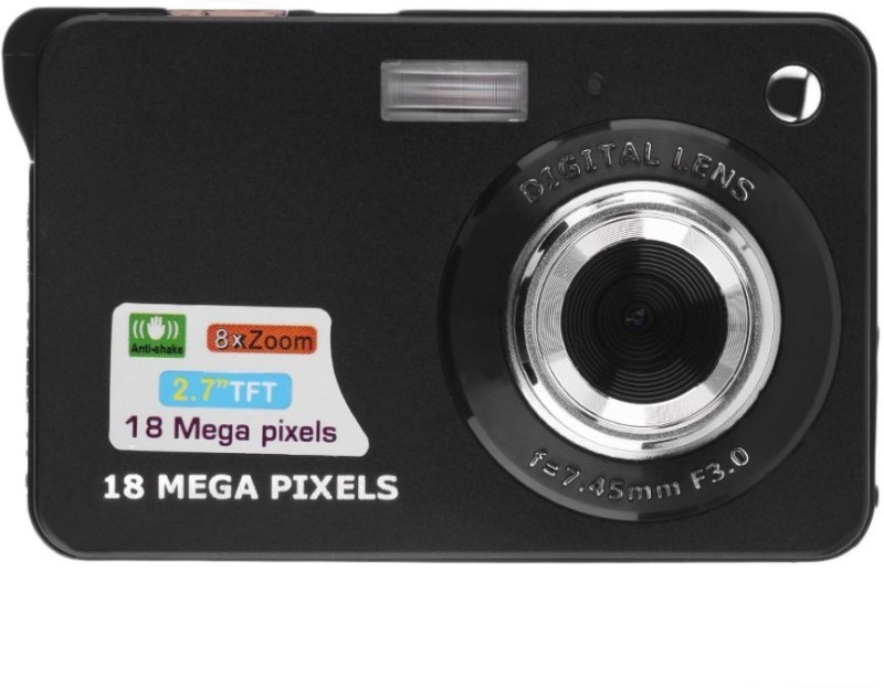 Dsantech STCCX2 BODY WITH 8 GB CARD Camcorder Camera(Black) image