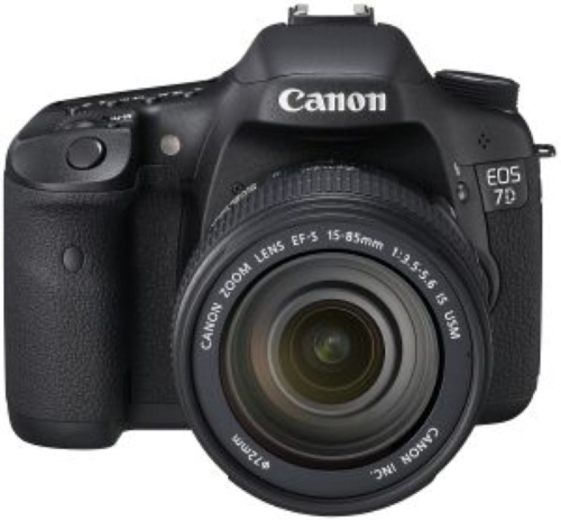Canon EOS 7D (Body with EF-S 18-85 mm IS I Lens) DSLR Camera(Black)