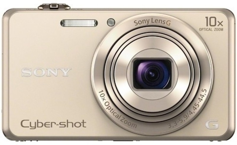 Sony DSC-WX220/NC IN5 Point & Shoot Camera(Gold) image