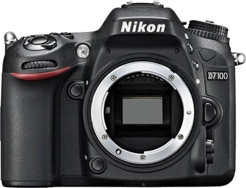 Nikon D7100 DSLR Camera Body with Single Lens/ AF-S 18-105 mm VR Lens (16 GB SD Card + Camera Bag)(Black) image