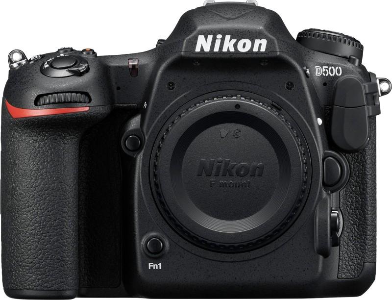 Nikon D500 (Body Only) DSLR Camera (Body only)(Black)