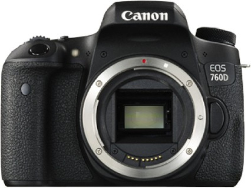Canon EOS 760D DSLR Camera (Body only)(Black) image