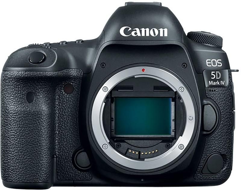 Canon 5D Mark IV DSLR Camera (Body only)(Black) EOS