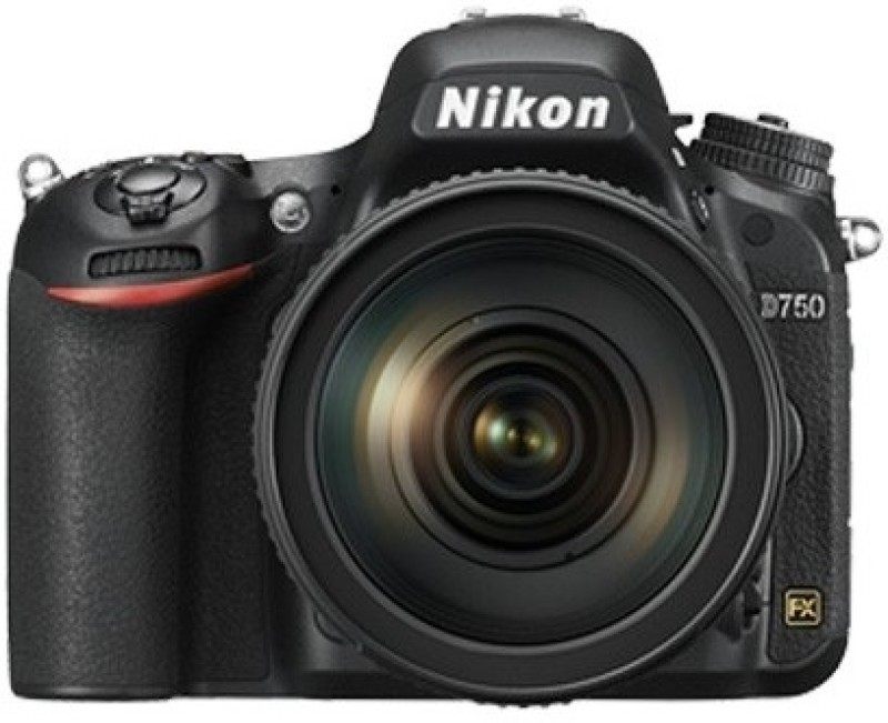 Nikon D750 Body with Single Lens: 24-120mm VR Lens(Black)