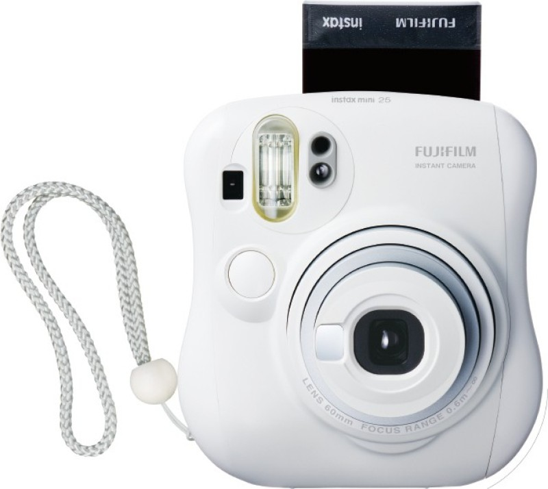 Fujifilm Instax Mini 25+ Instax Flim Roll Pack of 10 Instant Camera(White) image