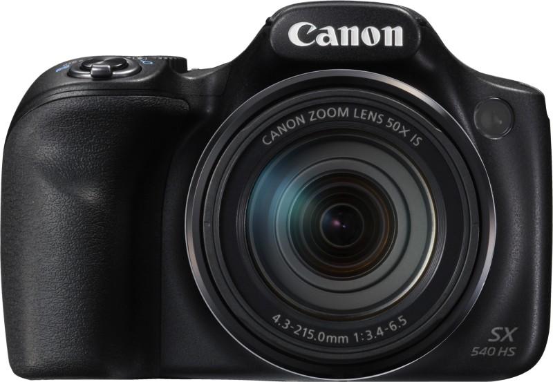 Canon SX540 HS Point & Shoot Camera(Black) image