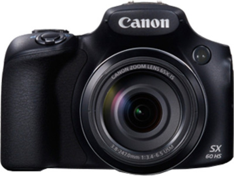 Canon SX60 HS Advanced Point & Shoot Camera(Black) SX60 HS
