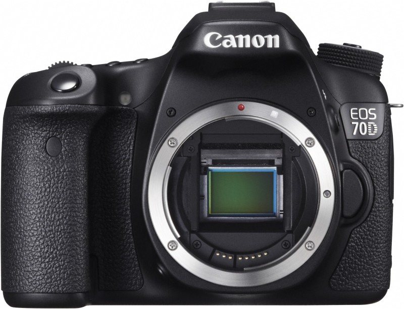 Canon EOS 70D (Body only) DSLR Camera(Black)