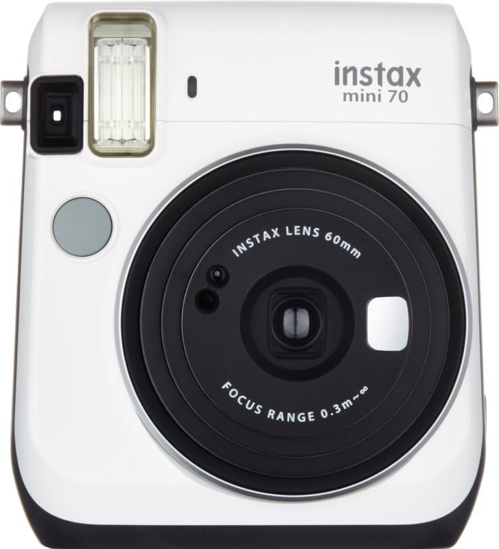 Fujifilm Instax Mini 70 Instant Camera (White)(White) image