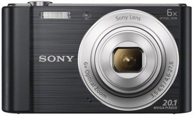 Sony DSC-W810/BC IN5 Point & Shoot Camera(Black)