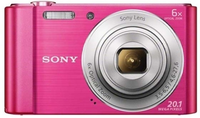 Sony DSC-W810/PC Point & Shoot Camera(Pink) image