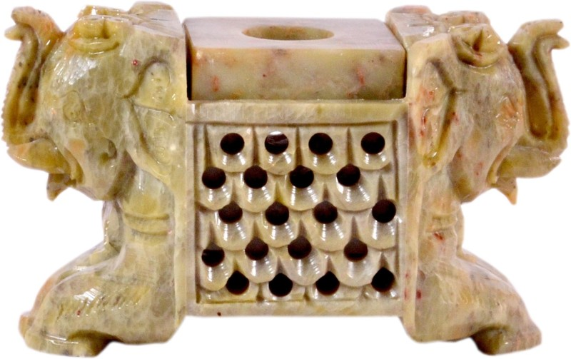 Avinash Handicrafts Stoneware 1 - Cup Candle Holder(Multicolor, Pack of 1)