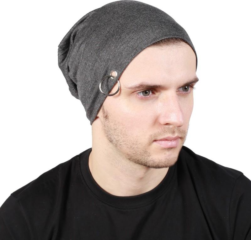 Noise Coal Grey Solid Skull Cap