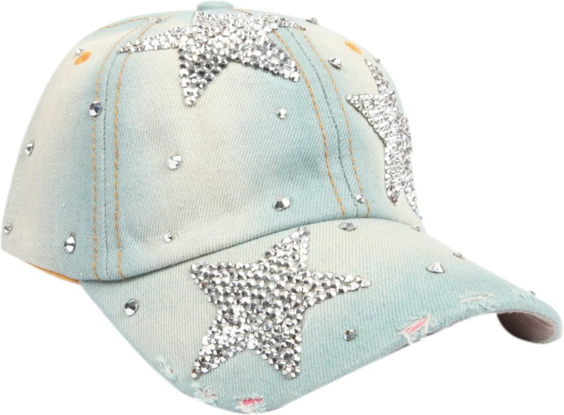 ILU Solid Denim Star, Snapback, baseball, Hip Hop, Trucker, Hat,...