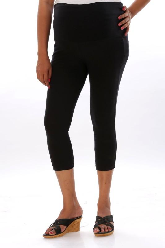 Ziva maternity wear Womens Black Capri