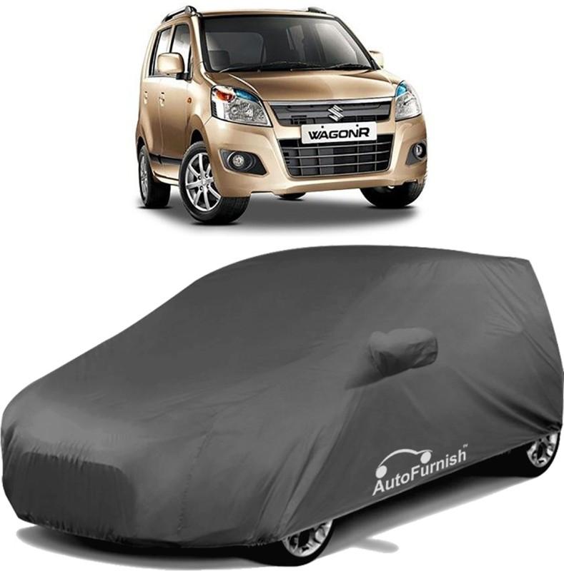 Autofurnish Car Cover For Maruti Suzuki WagonR (With Mirror Pockets)(Grey)