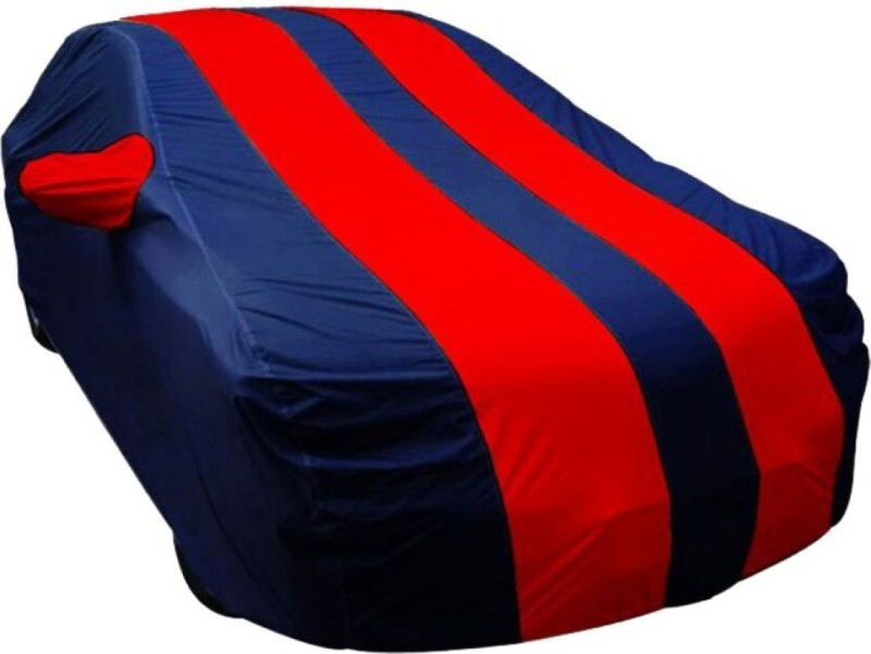 Bombax Car Cover For Hyundai Eon (With Mirror Pockets)(Red, Blue)