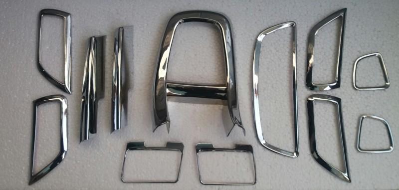 trigcars interior swift dzire interior chrome Car Dashboard Cover(Maruti Suzuki Swift Dzire)