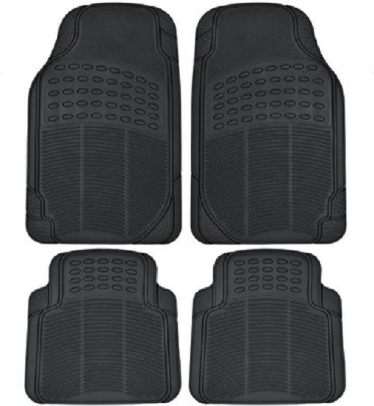 AutoSun Rubber Standard Mat For Tata Indica(Black)