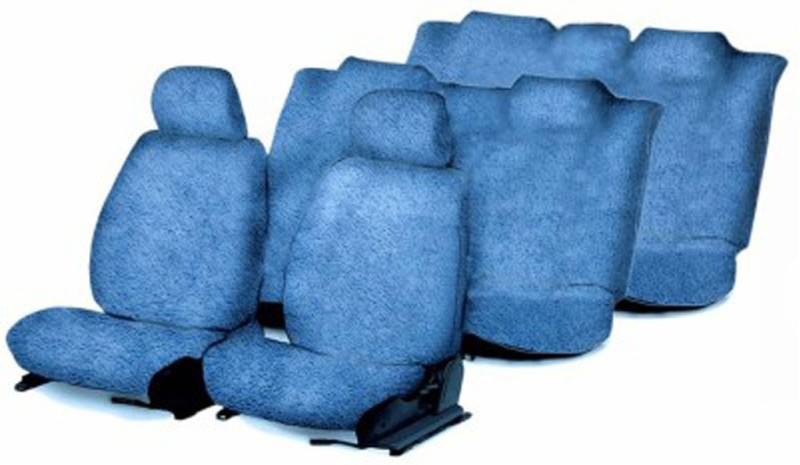 Allure Auto Cotton Car Seat Cover For Mahindra Scorpio(Front Detachable Headrest, Split Back Seat, 8 Seater, 3 Back Seat Head Rests)