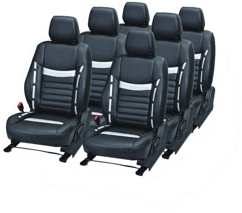 Pegasus Premium PU Leather Car Seat Cover For Mahindra Bolero(Detachable Head Rest, Mono Back Seat, With Back Seat Arm Rest, 7 Seater, 2 Back Seat Head Rests)