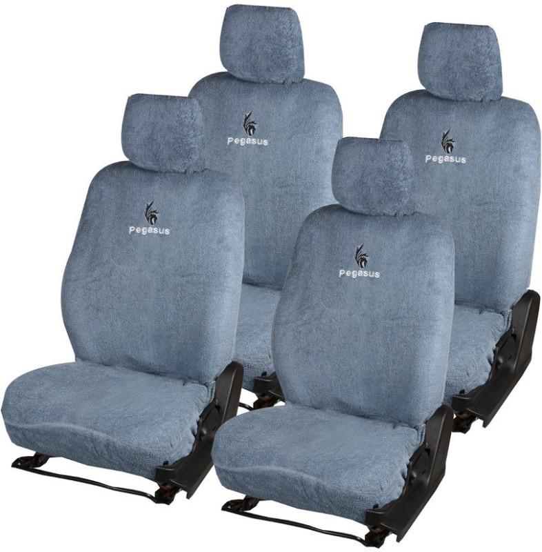 Pegasus Premium Cotton Car Seat Cover For Skoda Rapid(Detachable Head Rest, Mono Back Seat, Without Back Seat Arm Rest, 5 Seater, 2 Back Seat Head Rests)